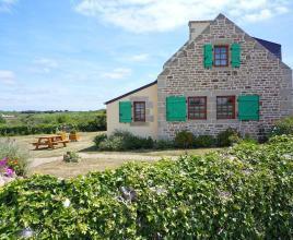Vakantiehuis in Esquibien aan zee, in Bretagne.
