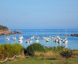 Vakantiehuis in Moquériec aan zee, in Bretagne.
