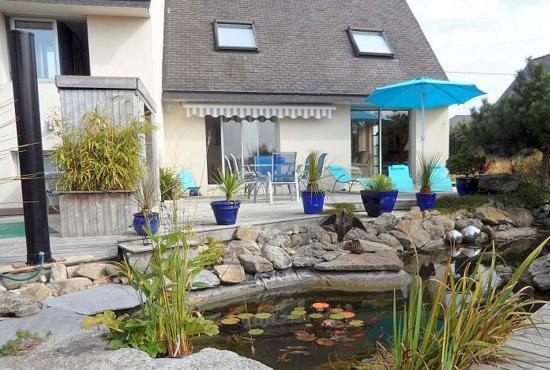 Holiday house in Moguériec, Brittany -