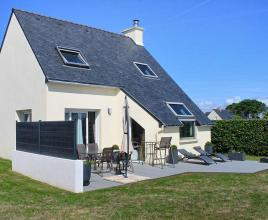 Ferienhaus in Portsall am Meer, in Bretagne.