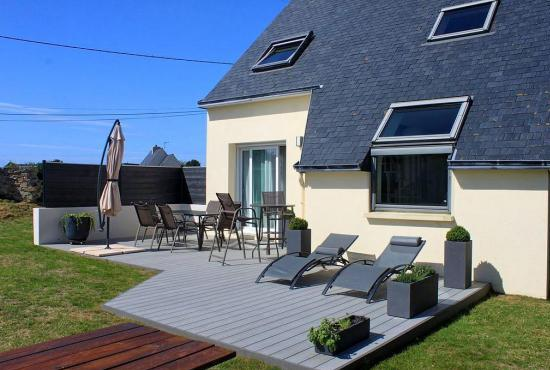 Holiday house in Portsall, Brittany -