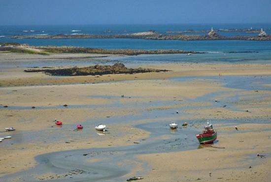 Ferienhaus in  Portsall, Bretagne - Die Küste bei Portsall