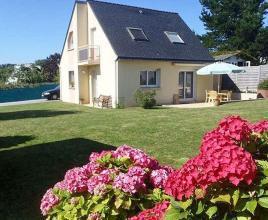 Vakantiehuis in Crozon aan zee, in Bretagne.