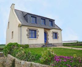 Vakantiehuis in Cléder aan zee, in Bretagne.