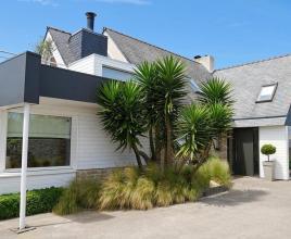 Vakantiehuis in Moguériec aan zee, in Bretagne.