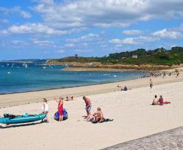 Vakantiehuis in Carantec aan zee, in Bretagne.