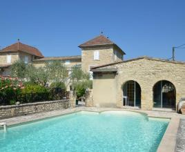 Ferienhaus in Cornillon mit Pool, in Languedoc-Roussillon.