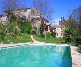Ferienhaus in Les Mazes mit Pool, in Languedoc-Roussillon.