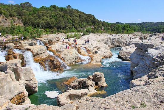 Location de vacances en Saint-Jean-de-Maruéjols, Languedoc-Roussillon - Cascade du Sautadet