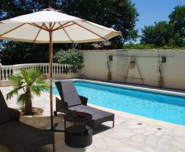 Holiday house in Saint-Geniès-de-Comolas with pool, in Languedoc-Roussillon.