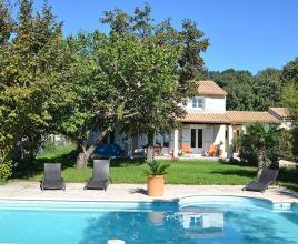 Holiday house in Cabrières with pool, in Languedoc-Roussillon.
