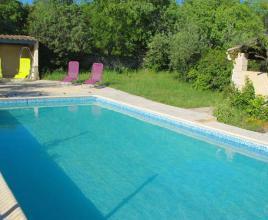 Vakantiehuis met zwembad in Languedoc-Roussillon in Uzès (Frankrijk)