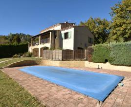 Holiday house in Le Pin with pool, in Languedoc-Roussillon.