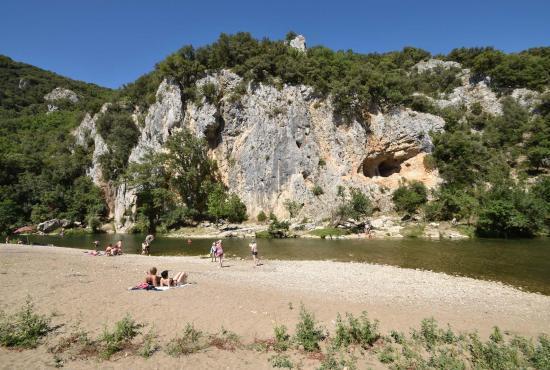 Location de vacances en Méjannes-le-Clap, Languedoc-Roussillon - Mejannnes - plage du Roy