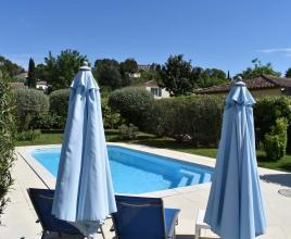 Ferienhaus in Villevieille mit Pool, in Languedoc-Roussillon.