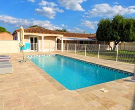 Ferienhaus in Liouc mit Pool, in Languedoc-Roussillon.