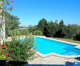 Holiday house in L'Isle-Jourdain with pool, in Midi-Pyrénées.