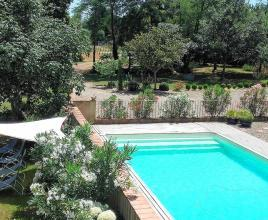 Holiday house in Bouzon-Gellenave with pool, in Midi-Pyrénées.