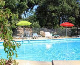 Vakantiehuis in Aniane met zwembad, in Languedoc-Roussillon.