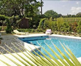 Holiday house in Coulobres with pool, in Languedoc-Roussillon.