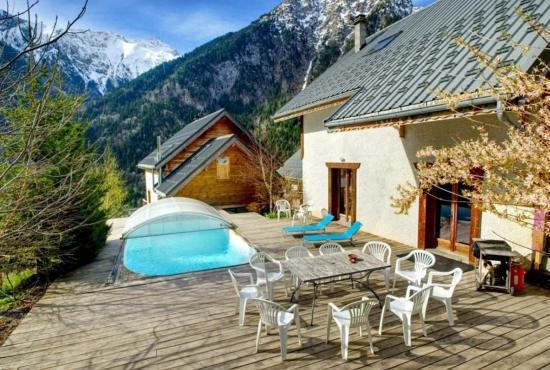 Holiday house in Venosc, Alpes - Chalet with private pool