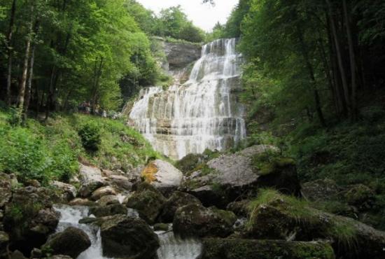Location de vacances en Doucier, Franche-Comté - Cascade de Hérisson