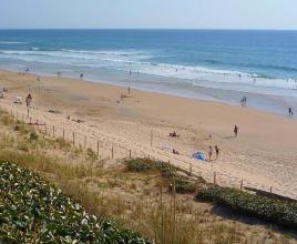 Holiday house in Biscarrosse-Plage near the sea, in Aquitaine.