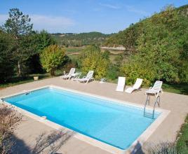 Holiday house in Saint-Clair with pool, in Dordogne-Limousin.
