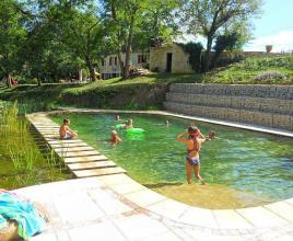 Holiday house in Camy with pool, in Dordogne-Limousin.