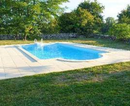 Holiday house in Thémines with pool, in Dordogne-Limousin.