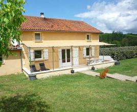 Vakantiehuis in Léobard met zwembad, in Dordogne-Limousin.
