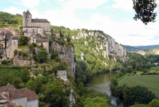Vakantiehuis in La Graville Haute, Dordogne-Limousin - Saint-Cirq-Lapopie