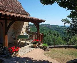 Ferienhaus in La Graville Haute, in Dordogne-Limousin.