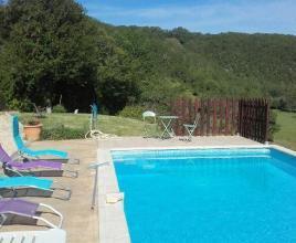 Vakantiehuis in Saint-Clair met zwembad, in Dordogne-Limousin.