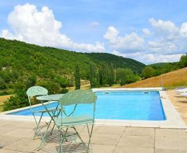 Vakantiehuis met zwembad in Dordogne-Limousin in Saint-Clair (Frankrijk)