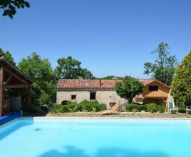 Ferienhaus in Cahors mit Pool, in Dordogne-Limousin.