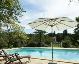 Holiday house in Thédirac with pool, in Dordogne-Limousin.