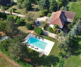 Vakantiehuis in Caillac met zwembad, in Dordogne-Limousin.