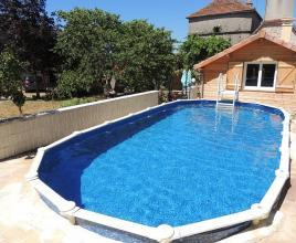 Holiday house in Floirac with pool, in Dordogne-Limousin.