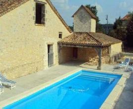 Ferienhaus in Montaut mit Pool, in Aquitanien.