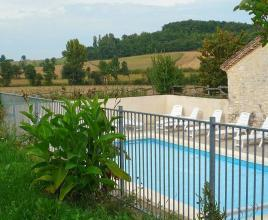 Holiday house in Montaut with pool, in Aquitaine.