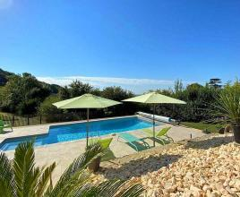 Holiday house in Beaugas with pool, in Aquitaine.