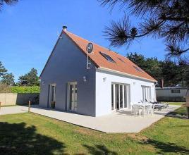 Vakantiehuis in Denneville-Plage aan zee, in Normandië.