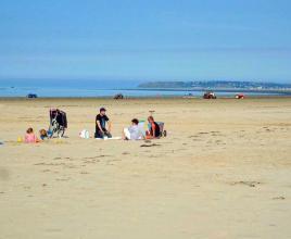 Location de vacances en bord de mer à Denneville-Plage, Normandie.
