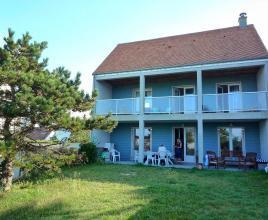 Ferienhaus in Denneville-Plage am Meer, in Normandie.