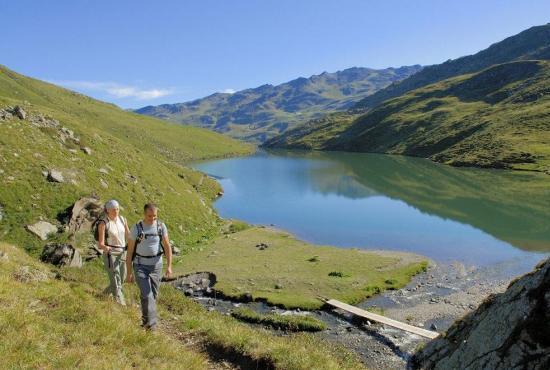 Location de vacances en Praranger, Alpes - Lac de montagne