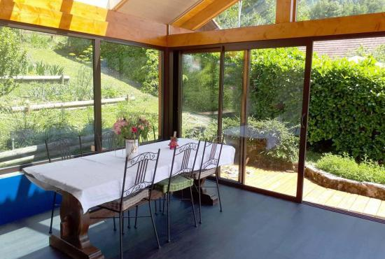Holiday house in Frontenex, Alpes - Veranda