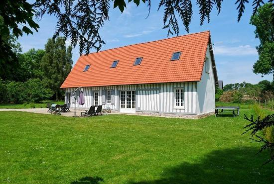 Holiday house in Luneray, Normandy -
