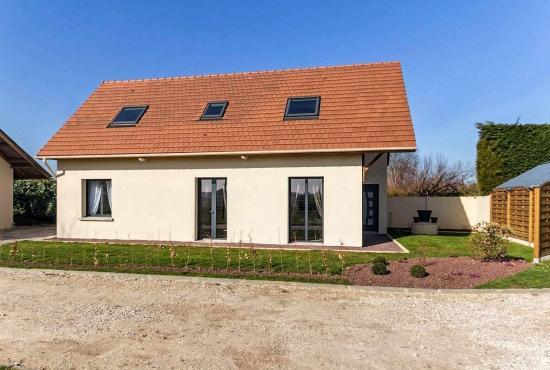 Holiday house in Vinnemerville, Normandy -