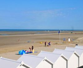 Ferienhaus in Fort-Mahon-Plage am Meer, in Normandie.